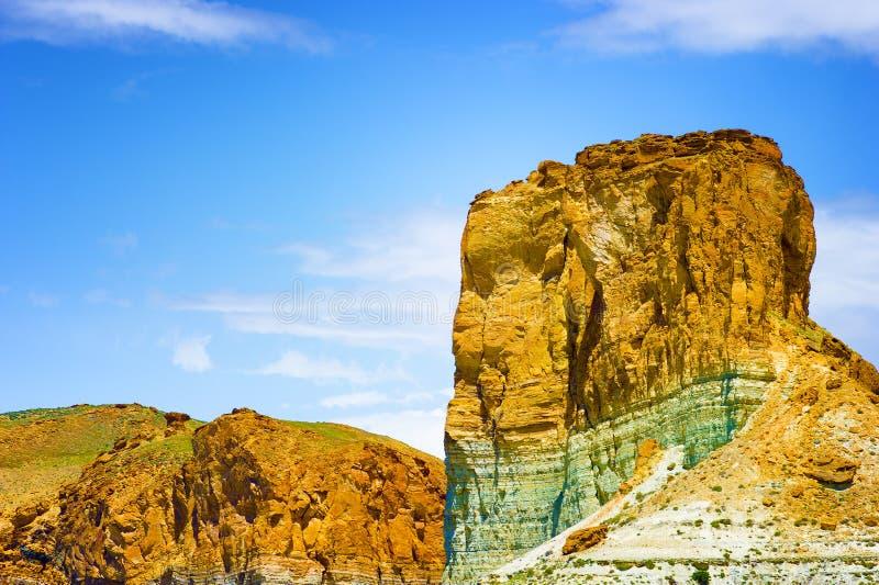 Kalksteinfelsformationen nahe Ogden Utah stockfoto