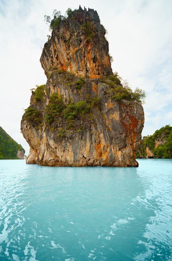 Kalksteininsel - die Küste von Thailand, Phuket lizenzfreie stockfotos