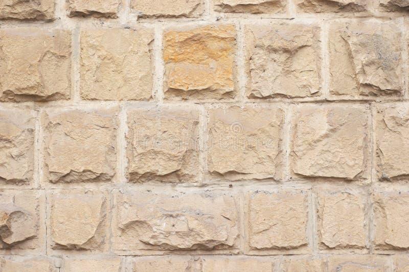 Kalksteinziegelsteinbeschaffenheit lizenzfreie stockfotos