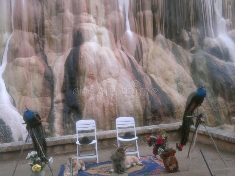 Kalksten i GUELMA Algeriet fotografering för bildbyråer