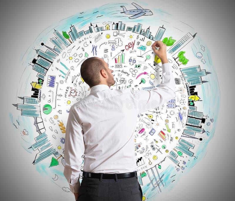kalkulatorów biznesowe pomysły pieniądze zdjęcie royalty free