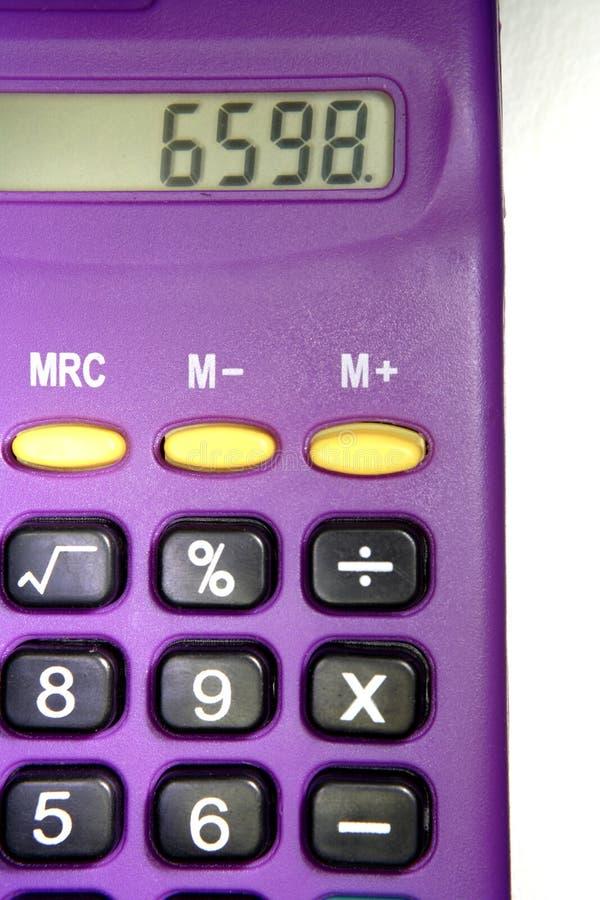 kalkulator obraz stock