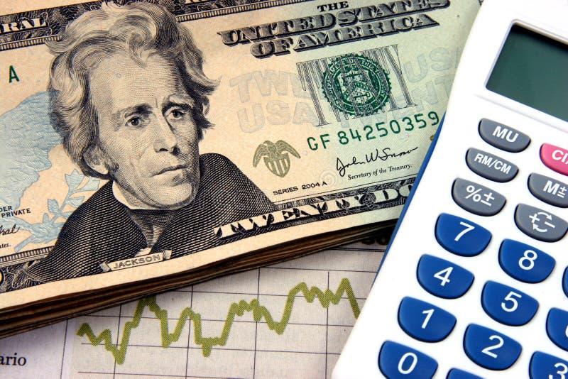 kalkulator dwudziestki planowania finansowego obraz royalty free