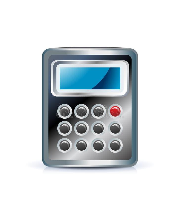 kalkulator ikona ilustracja wektor