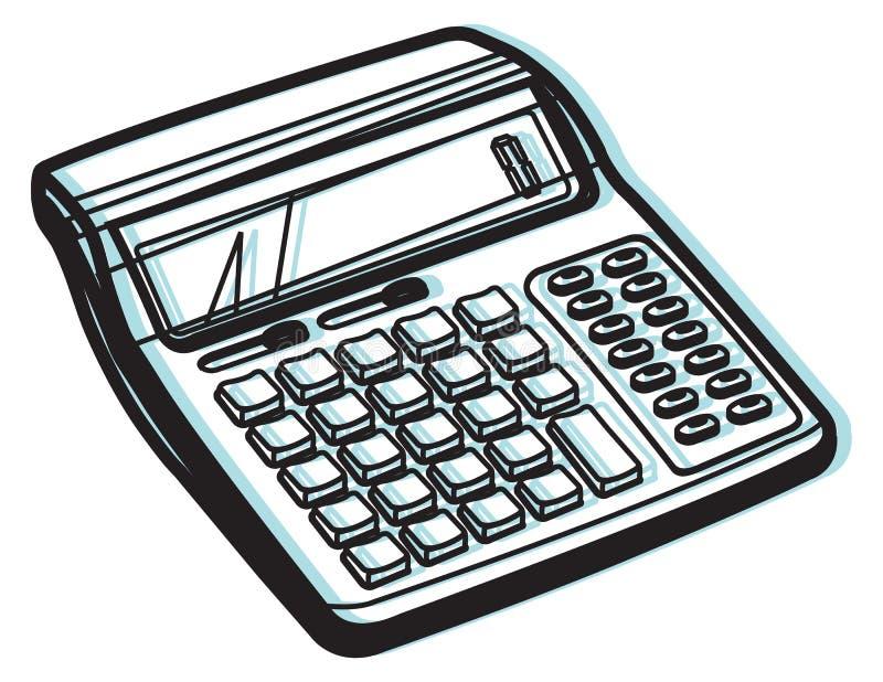 Kalkulator ikona - ilustracja ilustracji