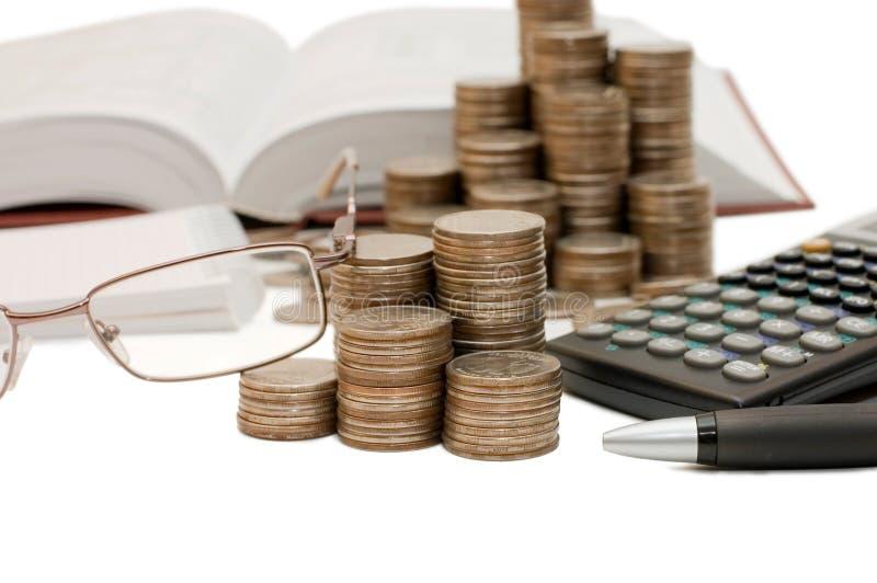 Download Kalkulator monety obraz stock. Obraz złożonej z przychody - 13339655