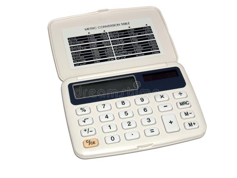 kalkulator podstawowego zdjęcia royalty free