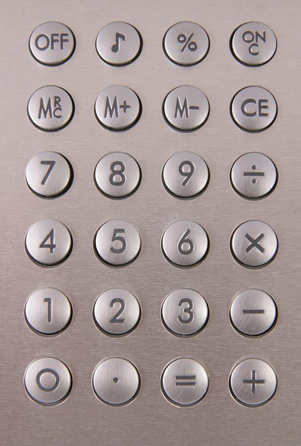 kalkulator srebra zdjęcia stock