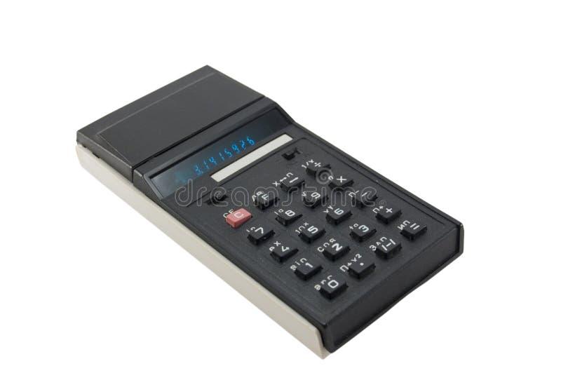 kalkulator stary zdjęcie royalty free