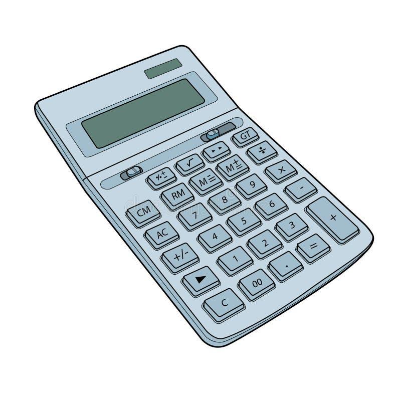 Kalkulatora wektor royalty ilustracja