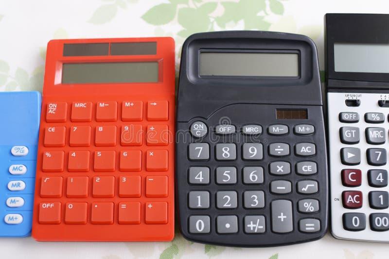 kalkulatorzy obrazy stock