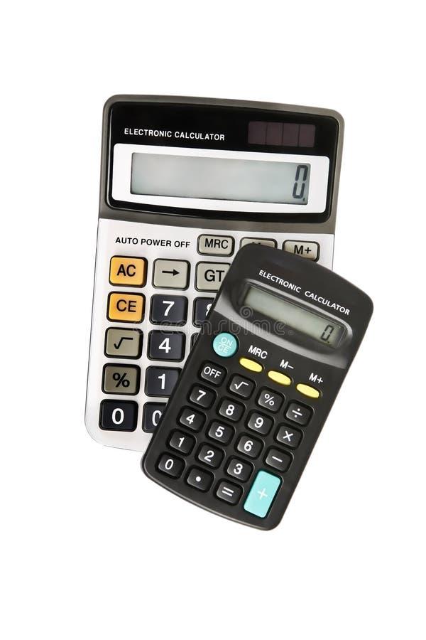 kalkulatorzy elektroniczni obraz royalty free