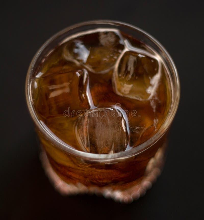 kall drink arkivbild