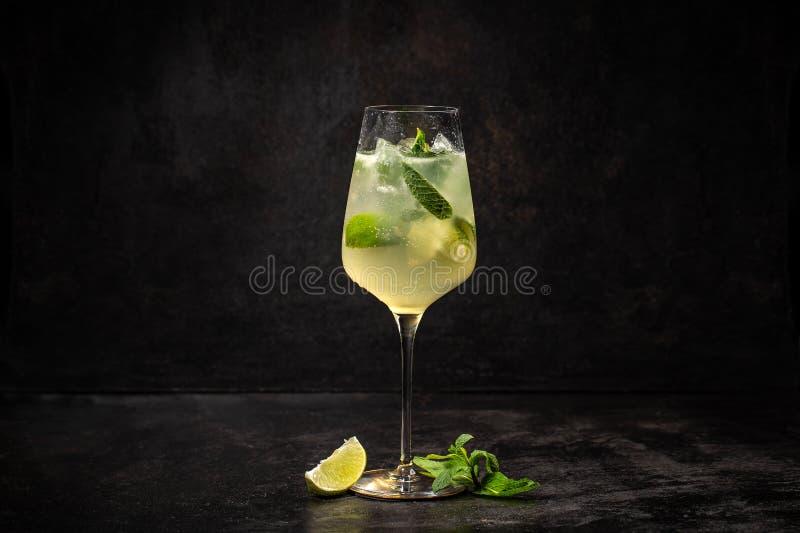 Kall drink för sommar arkivfoto