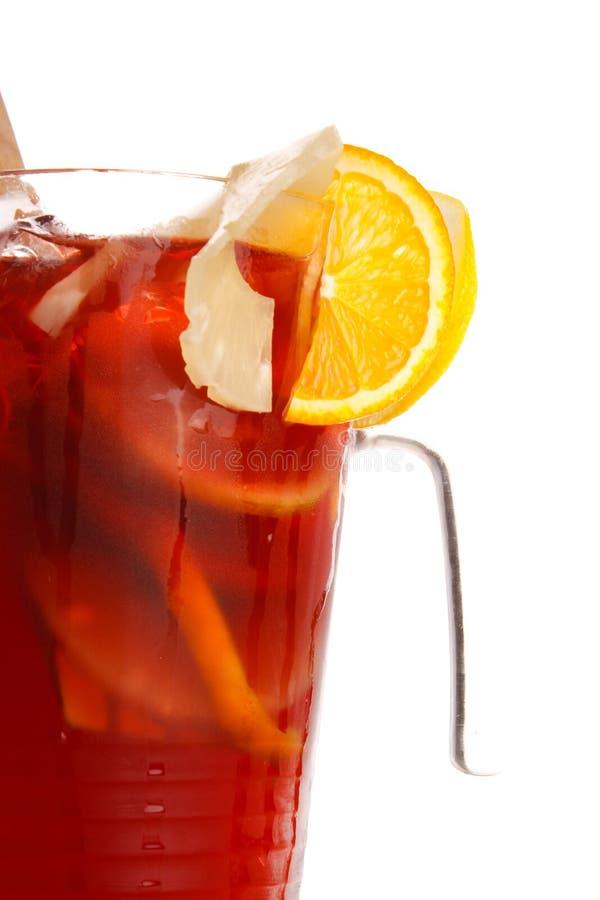 kall drinkfrukt royaltyfri fotografi
