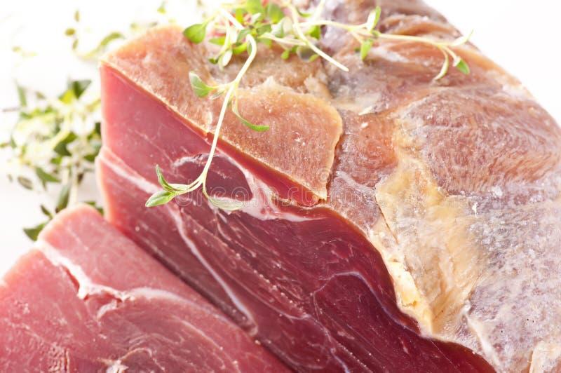 kall meat royaltyfri bild