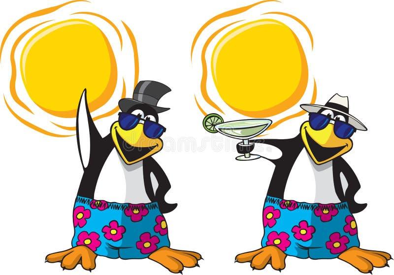 Kall Pingvin Royaltyfria Bilder