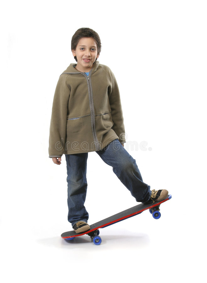 kall skateboradåkare för pojke fotografering för bildbyråer