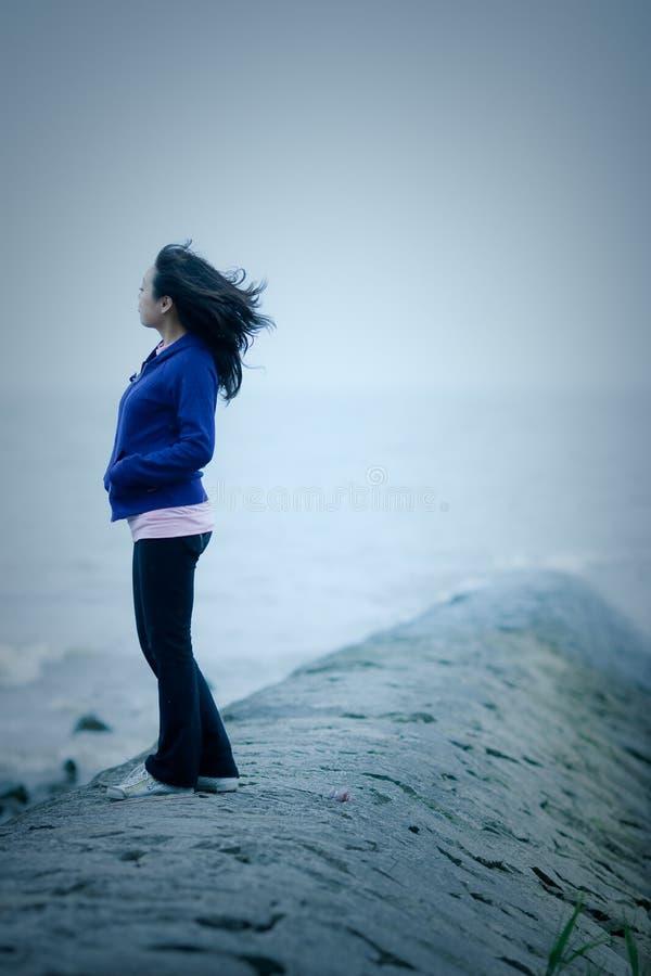 kall wind fotografering för bildbyråer