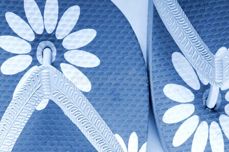 kalla sandals för strand fotografering för bildbyråer