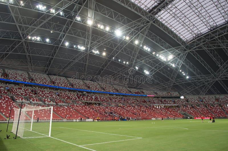 Kallang-Singapour 26 juillet 2018 : l'atmosphère dans le stade pendant l'icc2018 photo libre de droits