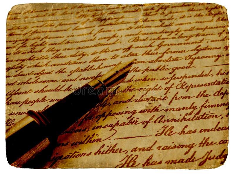 Kalligrafie royalty-vrije stock foto