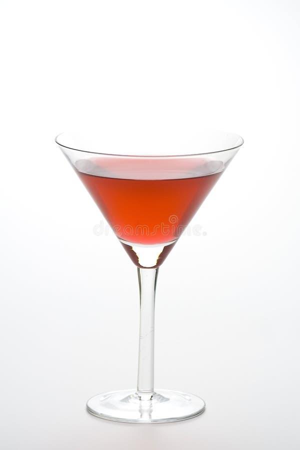 kallt exponeringsglas isolerade martini för coctail royaltyfria bilder