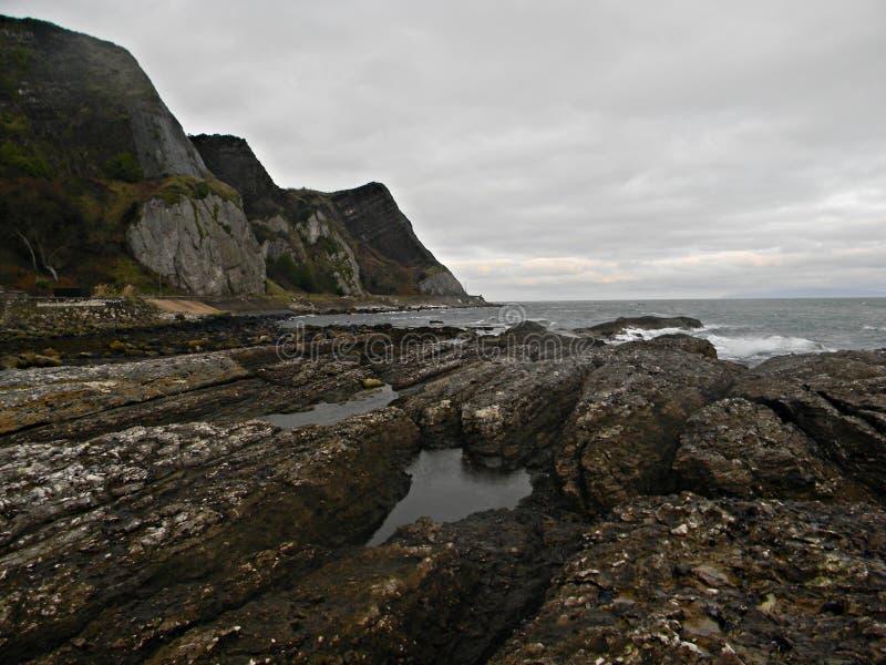 kallt hav fotografering för bildbyråer