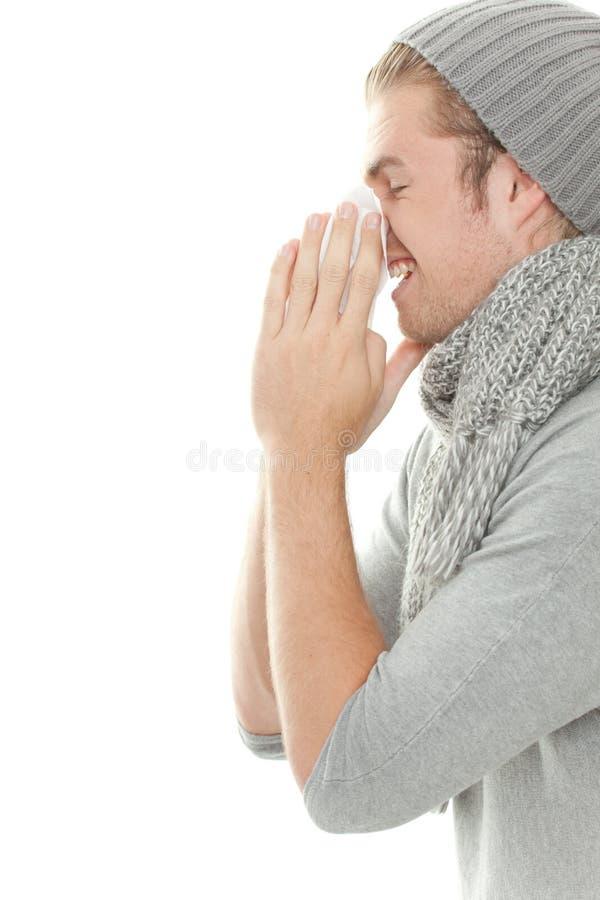 Kallt Mansilkespapper Royaltyfri Bild