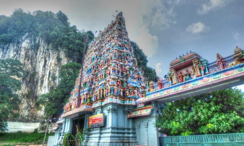 Kallumalai Arulmigu Subramaniyar świątynia zdjęcia stock