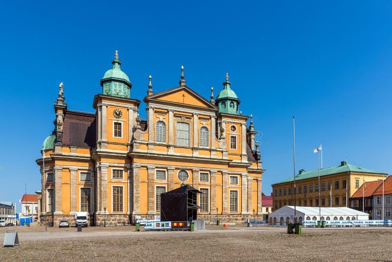 Kalmar katedra zdjęcia stock
