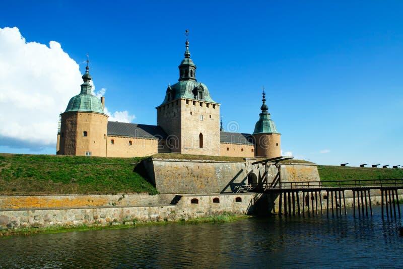 Kalmar Schloss lizenzfreie stockfotos