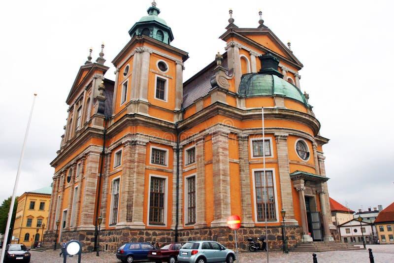 Kalmar, Suécia - esta catedral fotografia de stock