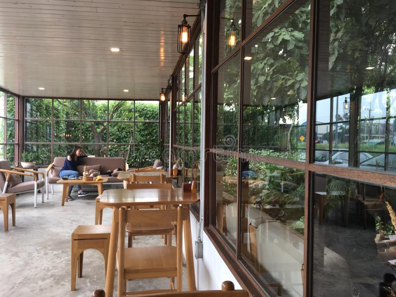 Kalme koffiekoffie stock fotografie