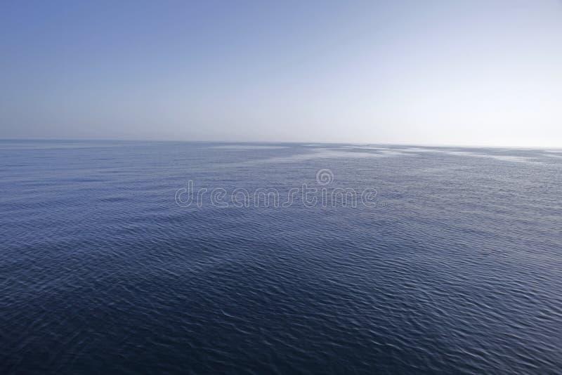 Kalme overzees stock afbeeldingen
