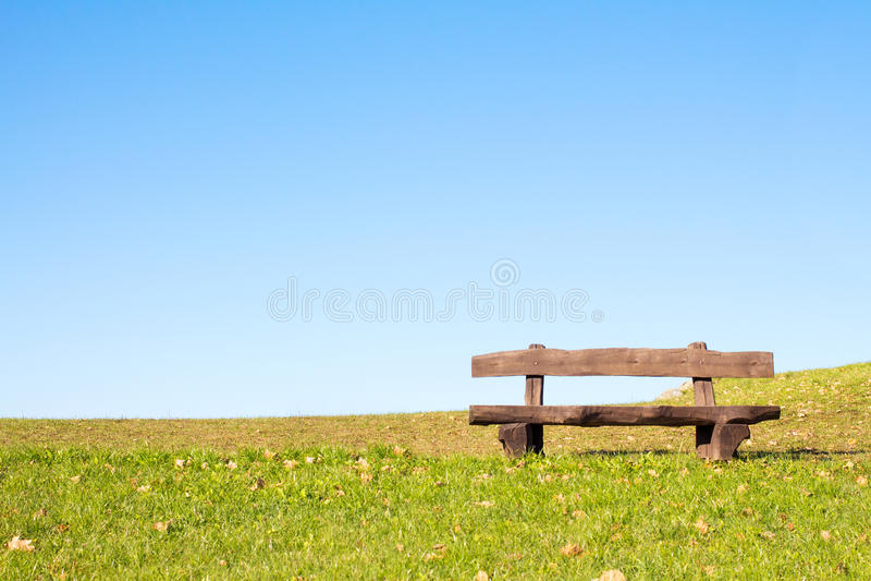 Kalme plaats om te rusten en te ontspannen stock foto