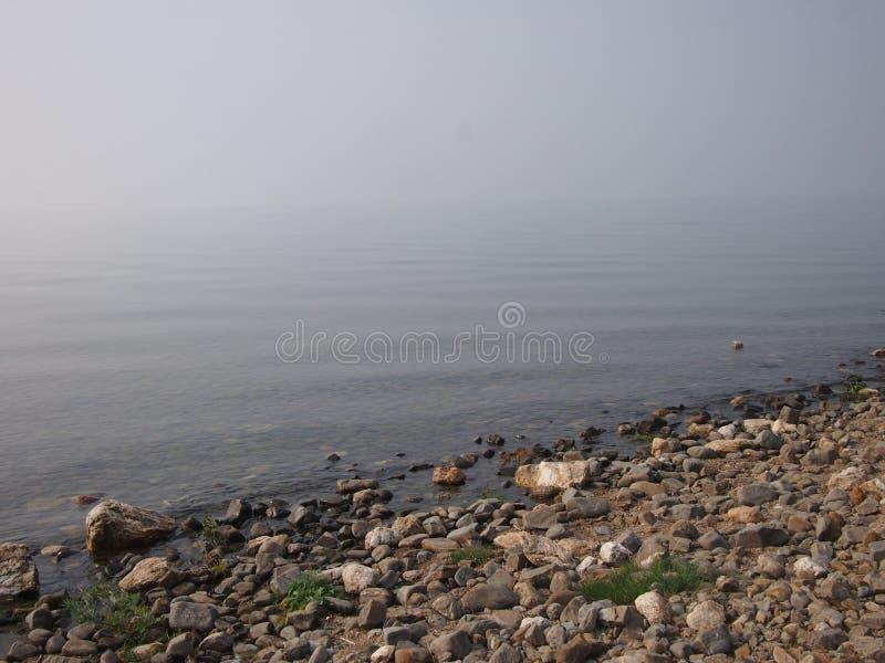 Kalme Wateren van Meer Baikal royalty-vrije stock afbeeldingen