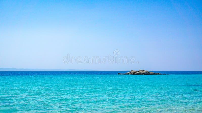 Kalogria plaża fotografia royalty free