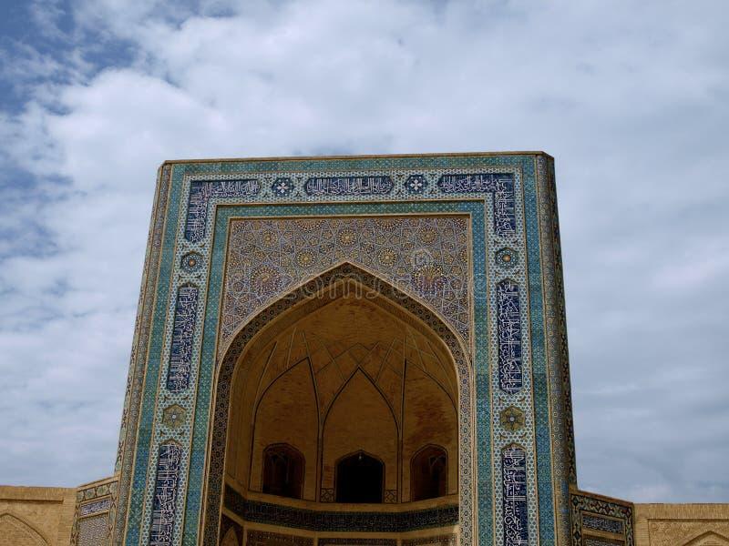 Kalon meczet w Bukhara obraz stock