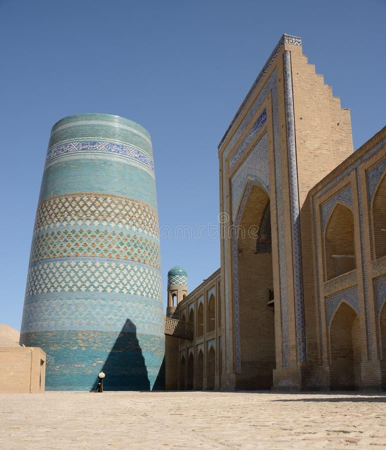 Kalta Mino, Khiva, Uzbekistán fotografía de archivo
