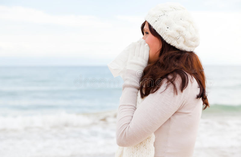 Kalte Krankheit lizenzfreie stockbilder