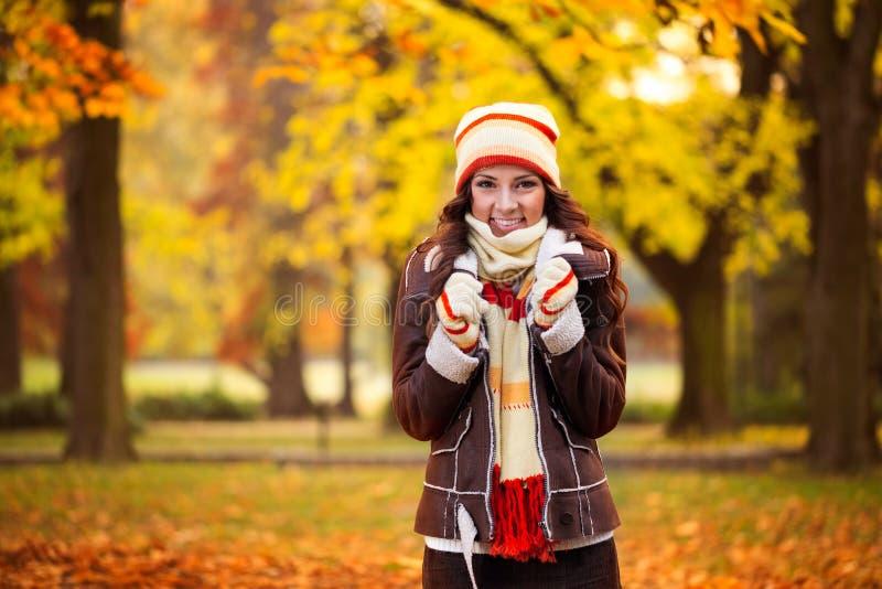 Kalter Herbst stockfotografie