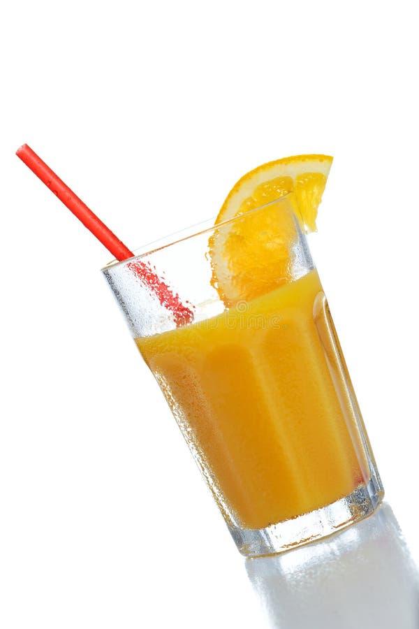 Kalter Orangensaft stockfoto