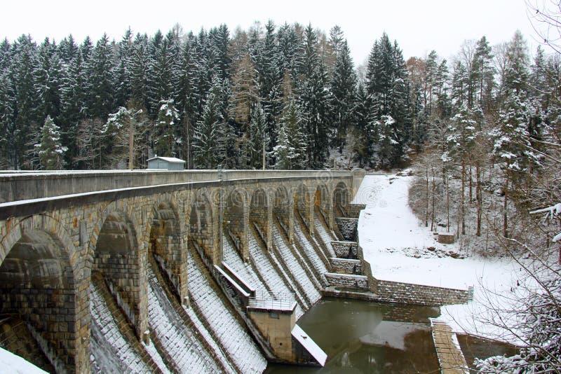 kalter Wintertag lizenzfreie stockfotos