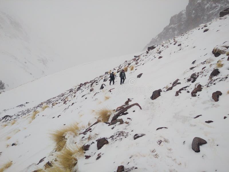 Kaltes Abenteuer lizenzfreies stockfoto