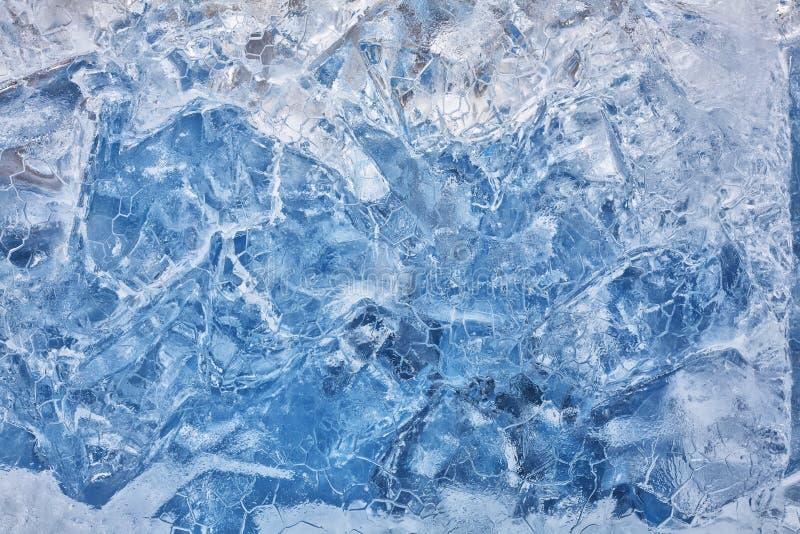 Kaltes Eis stockfoto