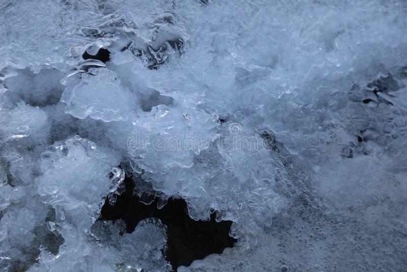 Kaltes Eis stockfotografie