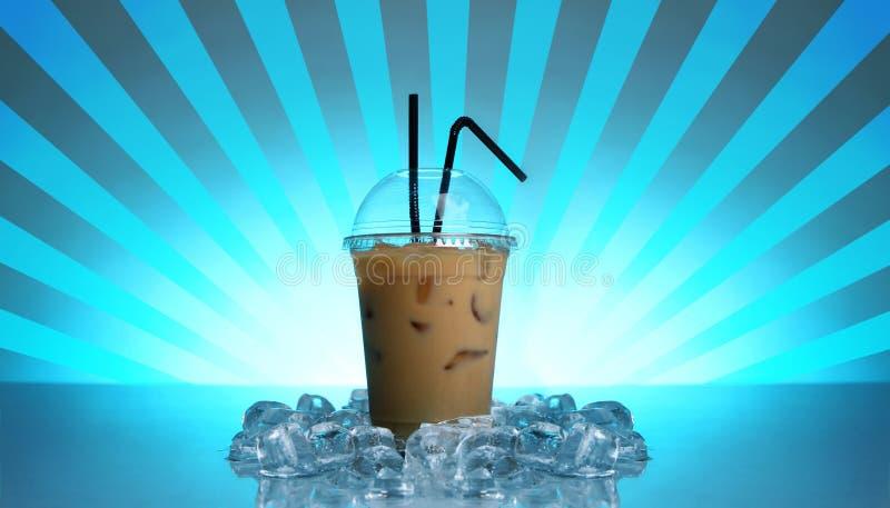 Kaltes Kaffeegetränk lizenzfreies stockfoto