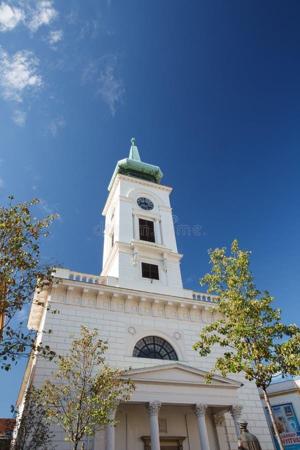 Kalvin Square Reformed Church, Budapest fotografia stock libera da diritti