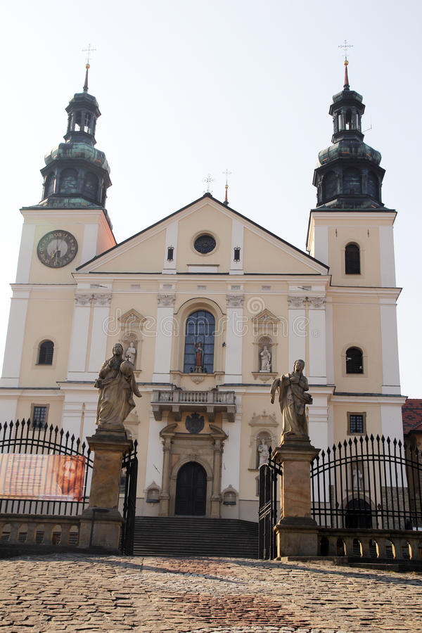 Kalwaria kyrka royaltyfria foton
